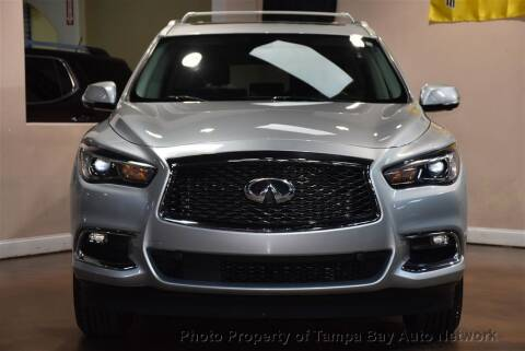 2017 Infiniti QX60 for sale at Tampa Bay AutoNetwork in Tampa FL
