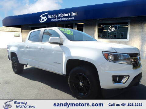 2018 Chevrolet Colorado for sale at Sandy Motors Inc in Coventry RI