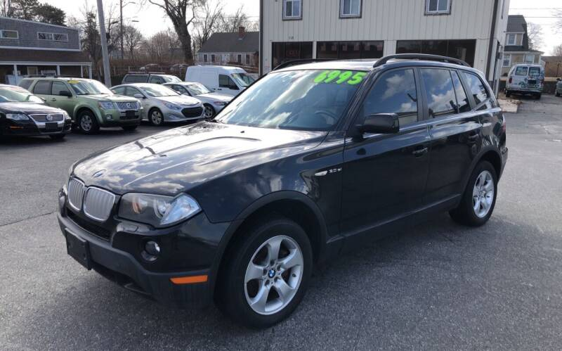2008 BMW X3 for sale at MBM Auto Sales and Service - MBM Auto Sales/Lot B in Hyannis MA