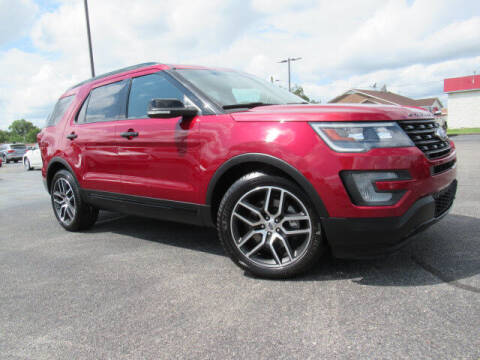 2016 Ford Explorer for sale at TAPP MOTORS INC in Owensboro KY