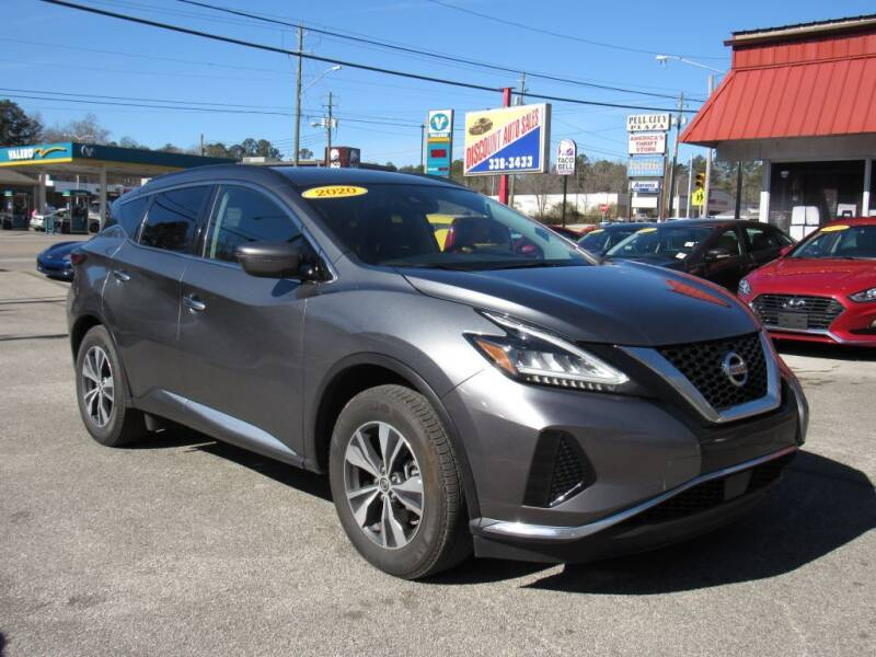 2020 Nissan Murano for sale at Discount Auto Sales in Pell City AL