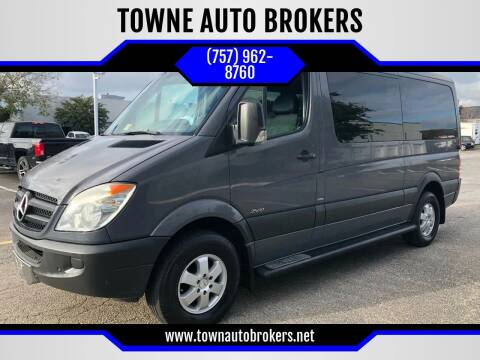 2010 Mercedes-Benz Sprinter for sale at TOWNE AUTO BROKERS in Virginia Beach VA