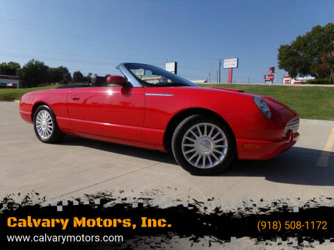 2005 Ford Thunderbird for sale at Calvary Motors, Inc. in Bixby OK