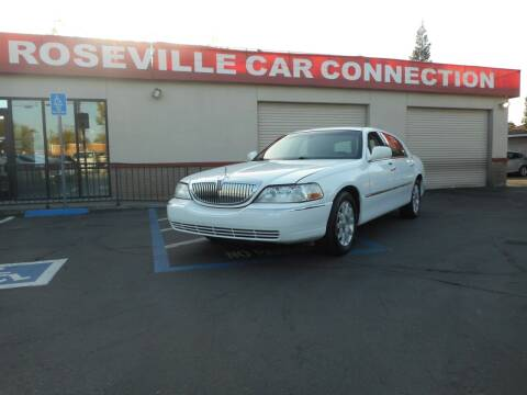 2011 Lincoln Town Car for sale at ROSEVILLE CAR CONNECTION in Roseville CA