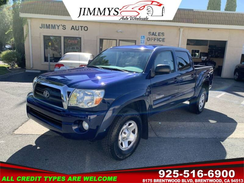 2008 Toyota Tacoma for sale at JIMMY'S AUTO WHOLESALE in Brentwood CA