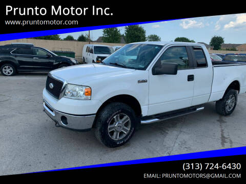 2007 Ford F-150 for sale at Prunto Motor Inc. in Dearborn MI