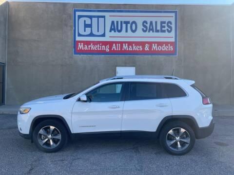 2019 Jeep Cherokee for sale at C U Auto Sales in Albuquerque NM