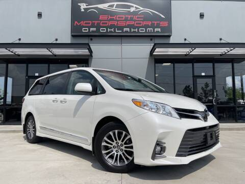 2018 Toyota Sienna for sale at Exotic Motorsports of Oklahoma in Edmond OK