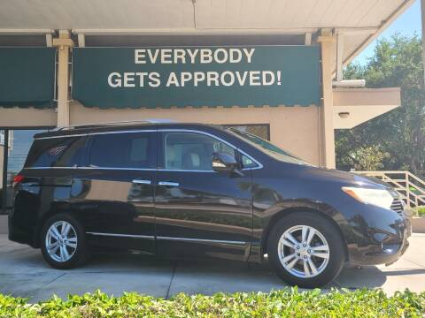 2012 Nissan Quest for sale at Dunn-Rite Auto Group in Longwood FL