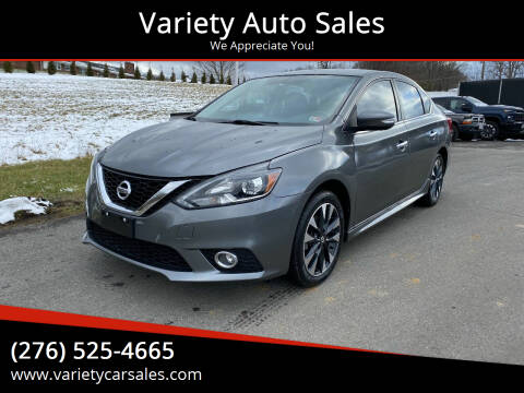 2016 Nissan Sentra for sale at Variety Auto Sales in Abingdon VA
