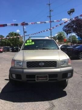 2000 Nissan Pathfinder for sale at ALBUQUERQUE AUTO OUTLET in Albuquerque NM