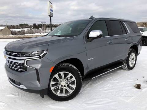 2021 Chevrolet Tahoe for sale at STATELINE CHEVROLET BUICK GMC in Iron River MI