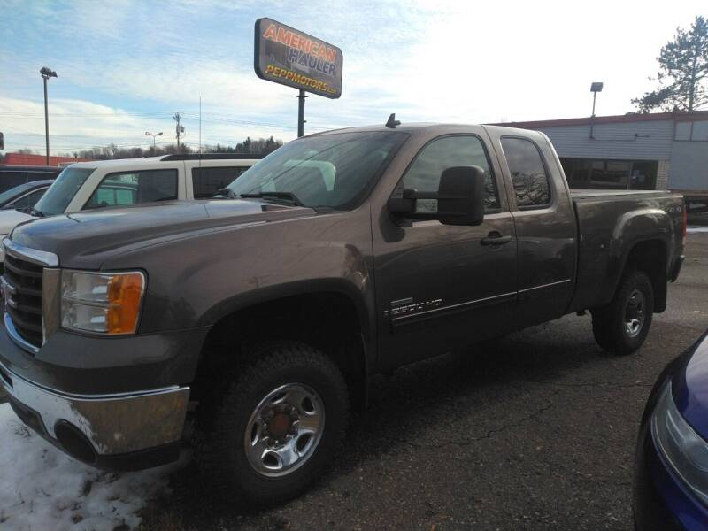 2008 GMC Sierra 2500HD for sale at Pepp Motors in Marquette MI
