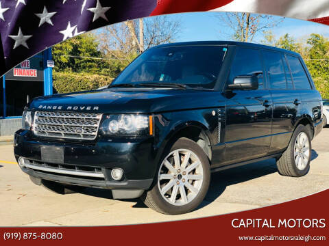 2012 Land Rover Range Rover for sale at Capital Motors in Raleigh NC