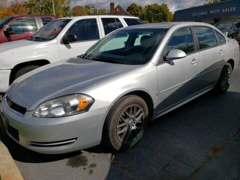 2009 Chevrolet Impala for sale at COLONIAL AUTO SALES in North Lima OH