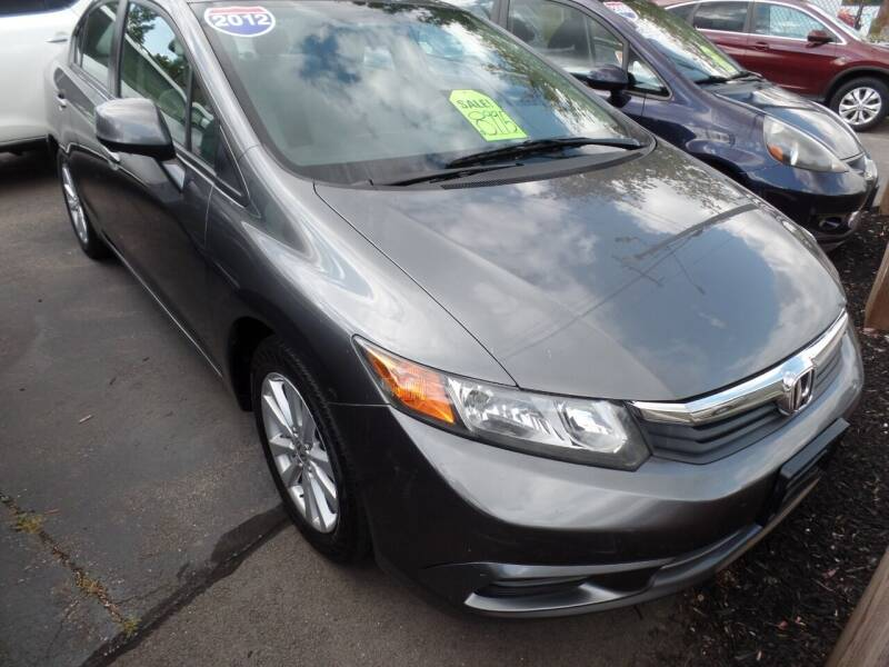 2012 Honda Civic for sale at CAR CORNER RETAIL SALES in Manchester CT