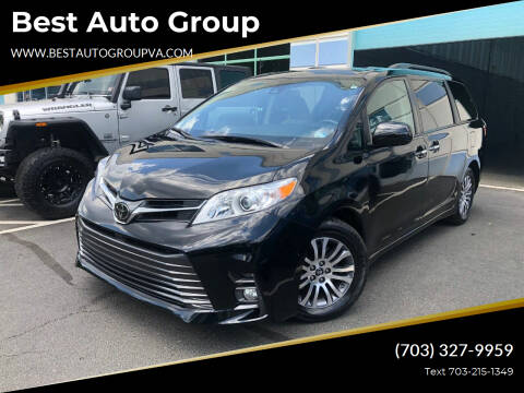 2018 Toyota Sienna for sale at Best Auto Group in Chantilly VA