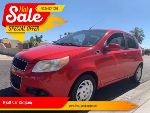 2011 Chevrolet Aveo for sale at Hyatt Car Company in Phoenix AZ