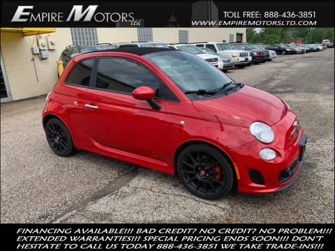 2015 FIAT 500c for sale at Empire Motors LTD in Cleveland OH