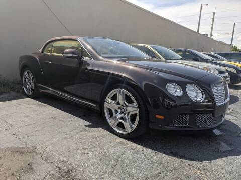 2013 Bentley Continental for sale at TOP TWO USA INC in Oakland Park FL