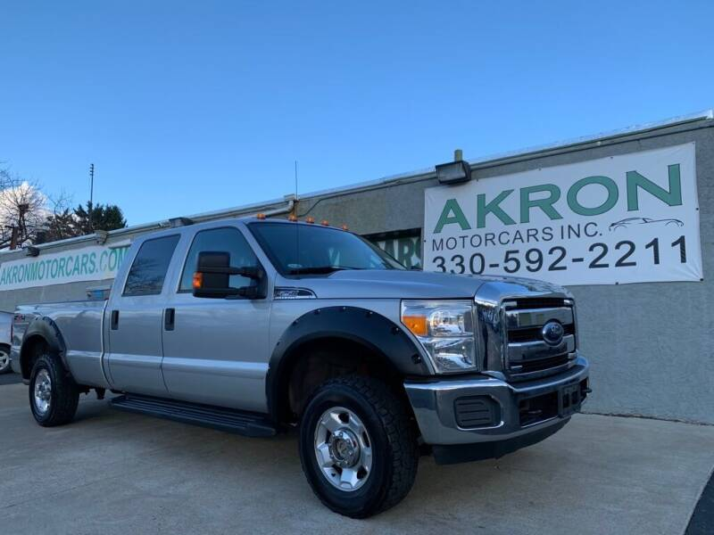 2011 Ford F-250 Super Duty for sale at Akron Motorcars Inc. in Akron OH
