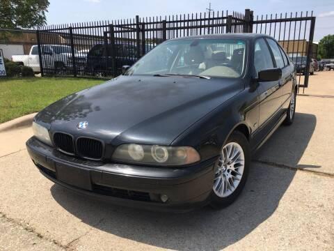 2003 BMW 5 Series for sale at TETCO AUTO SALES  / TETCO FUNDING in Dallas TX
