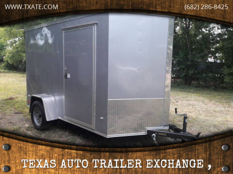 2019 Covered Wagon CW6x10SA for sale at Texas Auto Trailer Exchange - 6 x Trailers in Cleburne TX