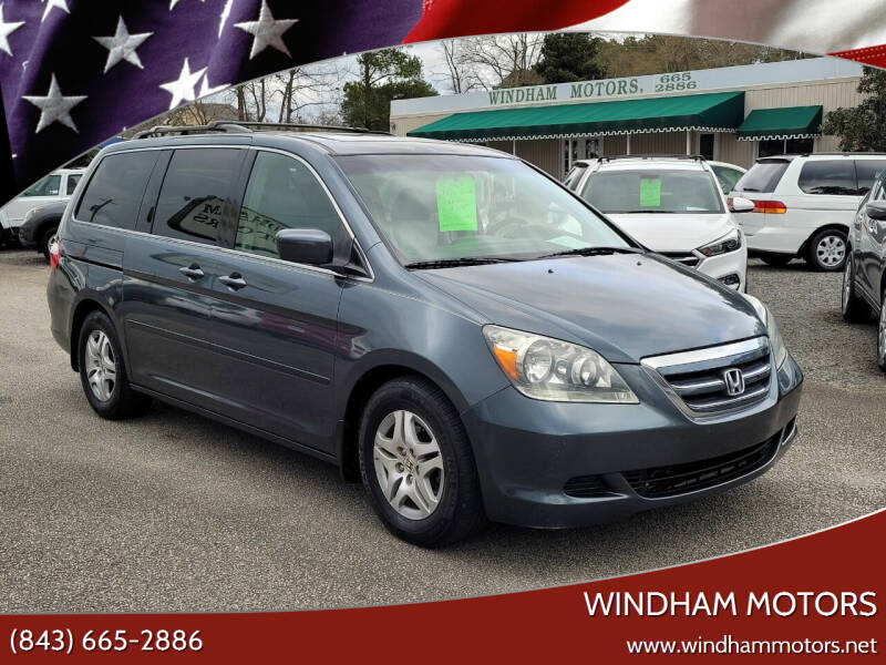 2006 Honda Odyssey for sale at Windham Motors in Florence SC