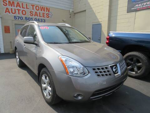 2009 Nissan Rogue for sale at Small Town Auto Sales in Hazleton PA