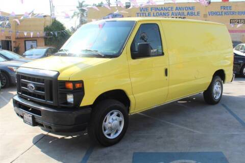 2014 Ford E-Series Cargo for sale at Good Vibes Auto Sales in North Hollywood CA