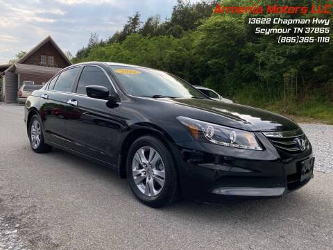 2012 Honda Accord for sale at Armenia Motors in Seymour TN