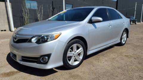 2012 Toyota Camry for sale at Fast Trac Auto Sales in Phoenix AZ