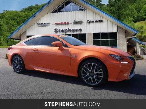 2016 Lexus RC 300 for sale at Stephens Auto Center of Beckley in Beckley WV