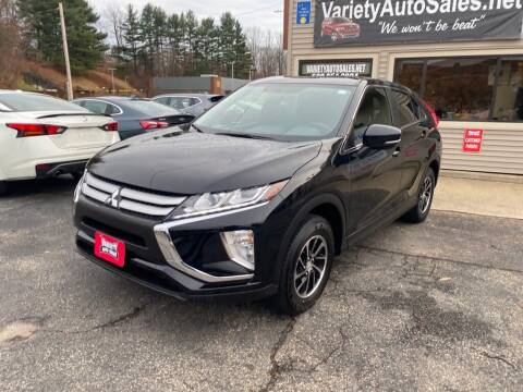 2020 Mitsubishi Eclipse Cross for sale at Variety Auto Sales in Worcester MA