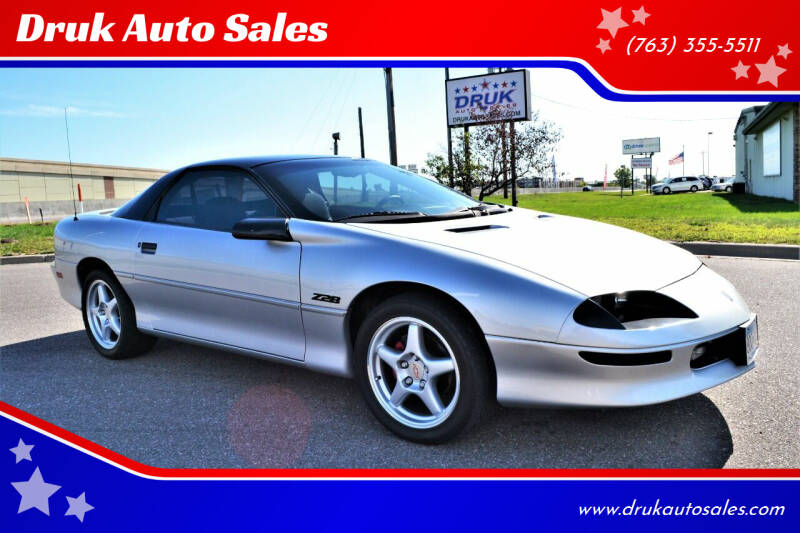 1995 Chevrolet Camaro for sale at Druk Auto Sales in Ramsey MN