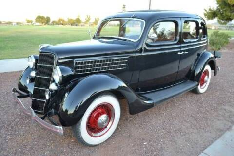 1935 Ford Deluxe for sale at Classic Car Deals in Cadillac MI