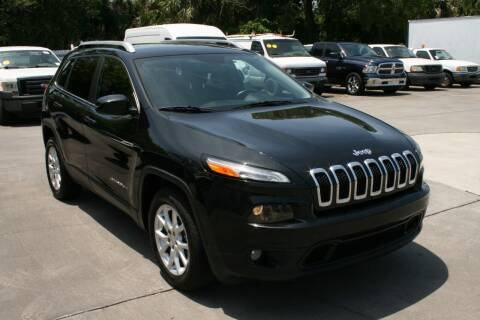 2015 Jeep Cherokee for sale at Mike's Trucks & Cars in Port Orange FL