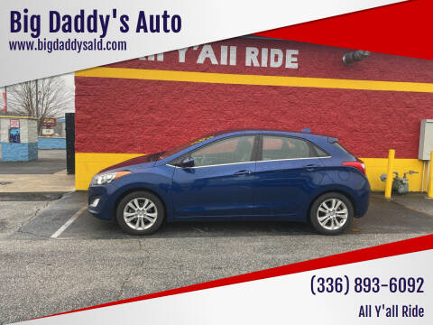 2013 Hyundai Elantra GT for sale at Big Daddy's Auto in Winston-Salem NC