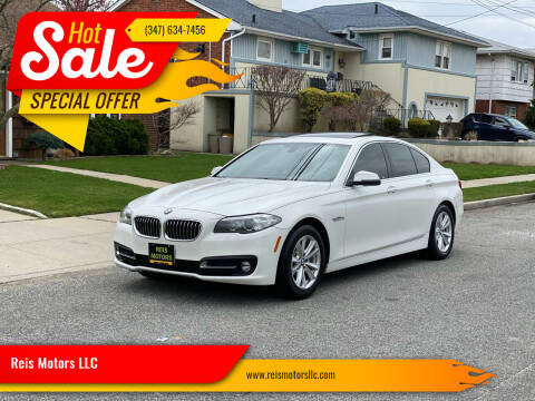 2015 BMW 5 Series for sale at Reis Motors LLC in Lawrence NY