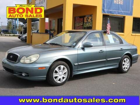 2004 Hyundai Sonata for sale at Bond Auto Sales in Saint Petersburg FL