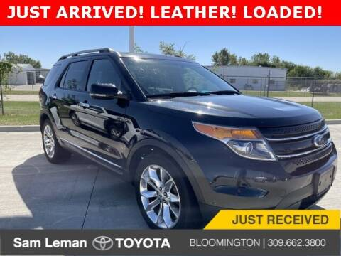 2013 Ford Explorer for sale at Sam Leman Mazda in Bloomington IL