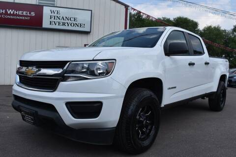 2016 Chevrolet Colorado for sale at Dealswithwheels in Inver Grove Heights MN