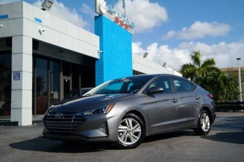 2019 Hyundai Elantra for sale at Tech Auto Sales in Hialeah FL