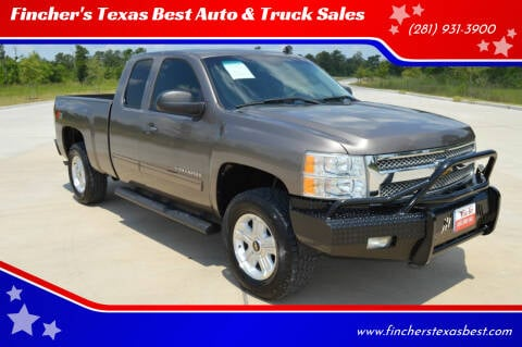 2012 Chevrolet Silverado 1500 for sale at Fincher's Texas Best Auto & Truck Sales in Tomball TX