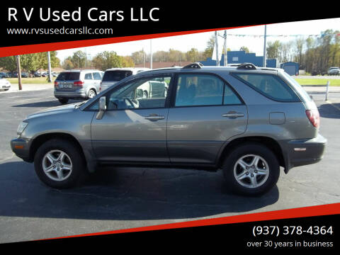 2000 Lexus RX 300 for sale at R V Used Cars LLC in Georgetown OH