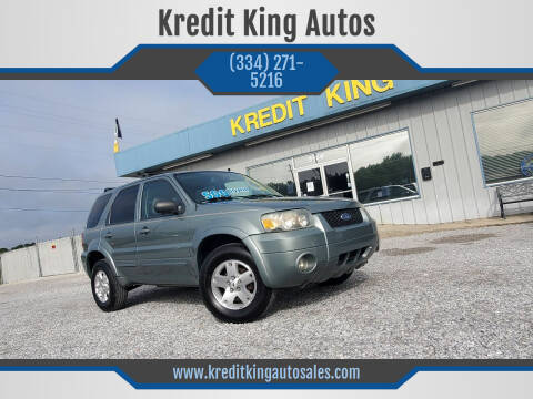 2006 Ford Escape for sale at Kredit King Autos in Montgomery AL