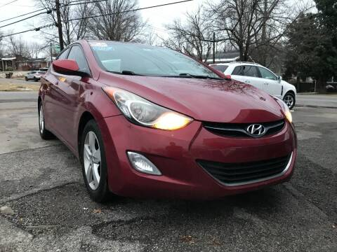 2012 Hyundai Elantra for sale at King Louis Auto Sales in Louisville KY