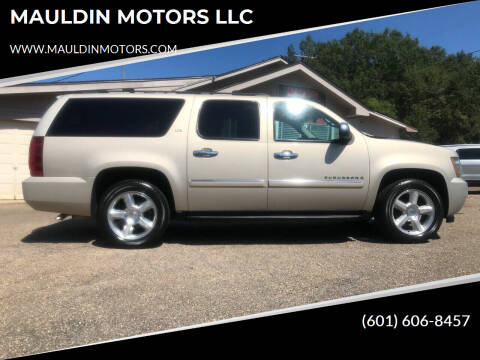 2008 Chevrolet Suburban for sale at MAULDIN MOTORS LLC in Sumrall MS
