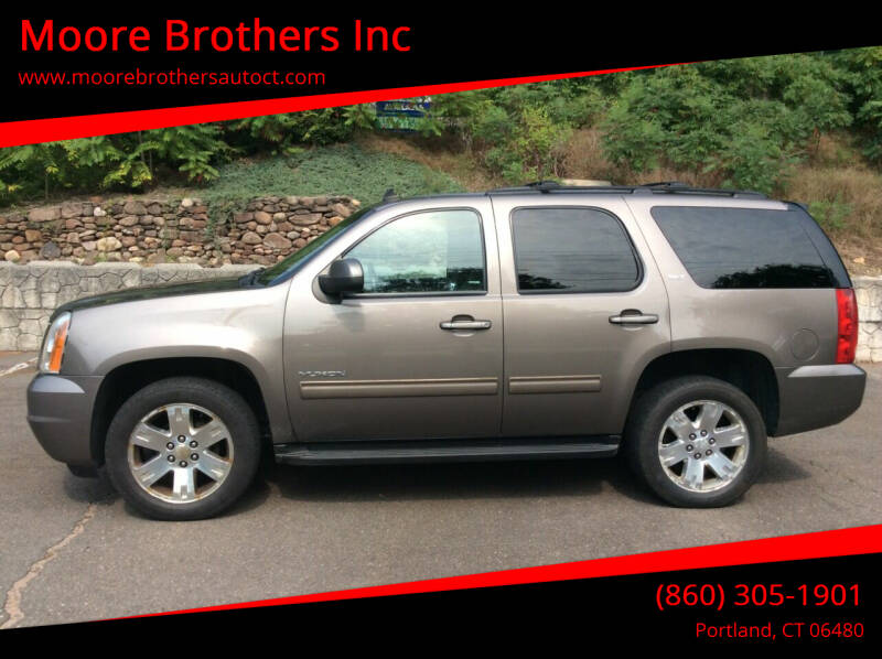 2013 GMC Yukon for sale at Moore Brothers Inc in Portland CT
