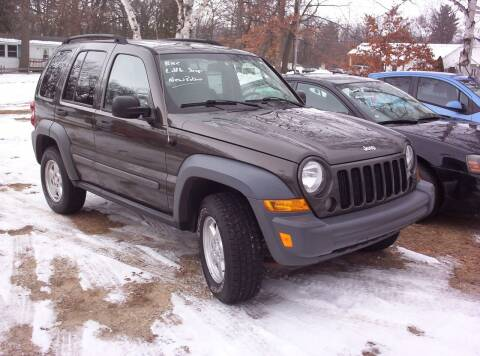 2006 Jeep Liberty for sale at LAKESIDE MOTORS LLC in Houghton Lake MI